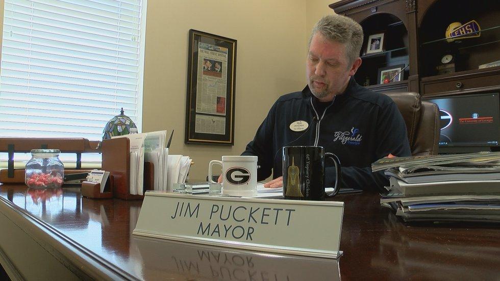 Mayor Jim Puckett