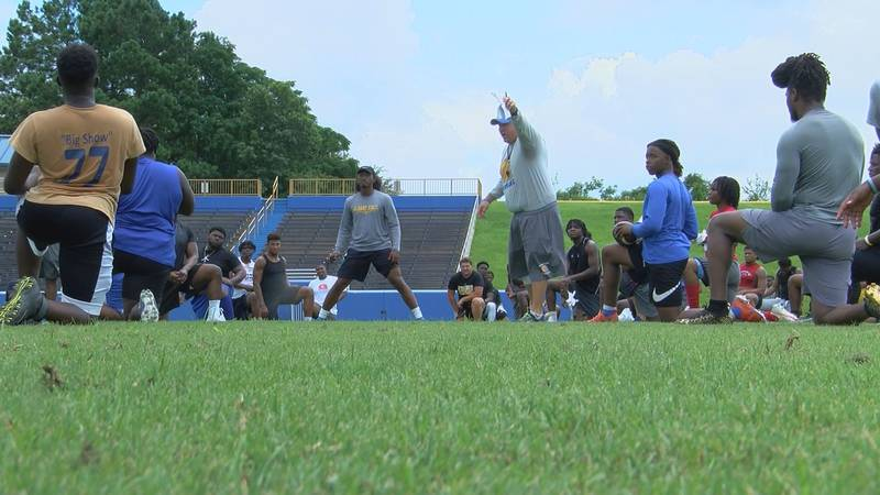 Albany State Football Hosts Prospect Camp