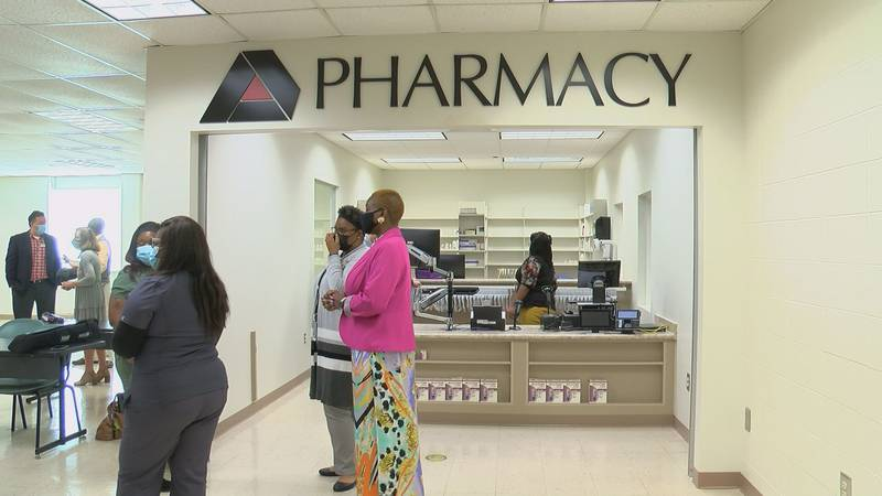 A look inside the retail pharmacy simulation room at Albany Technical College.