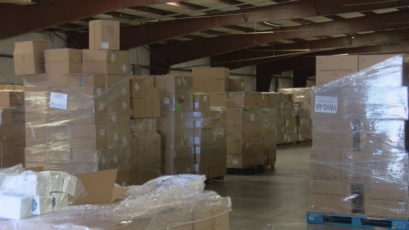 Now that supply chains are flowing again, Pima County is distributing PPE across the county for...