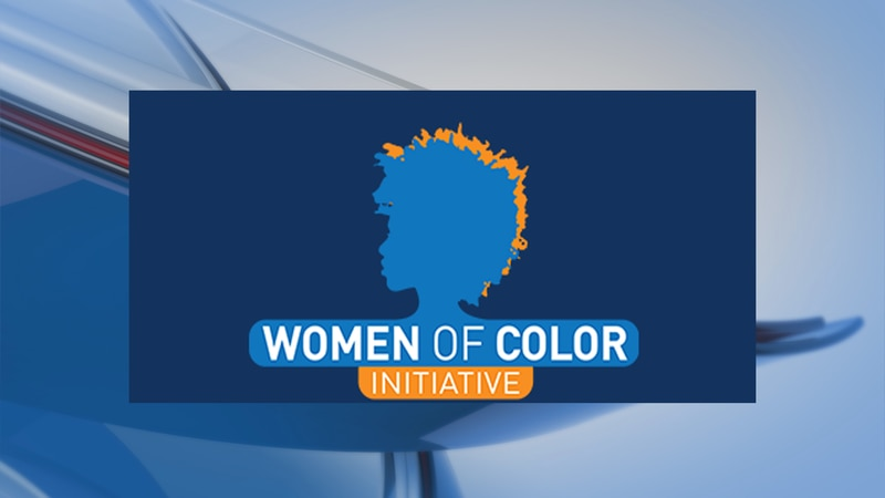 Logo for the Women of Color Initiative.