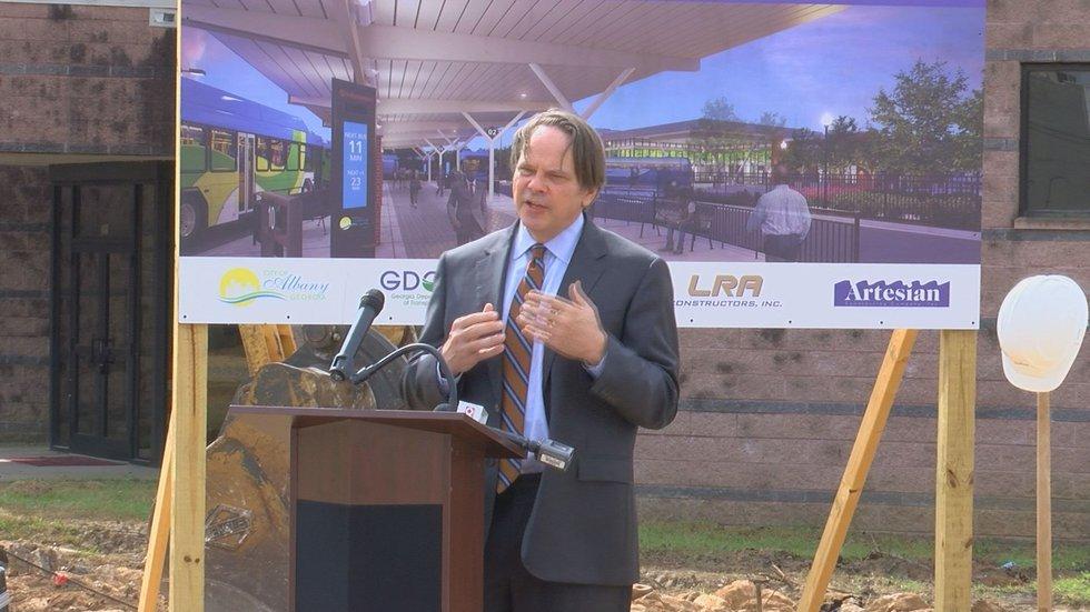 Albany Mayor Bo Dorough said the refurbishing will help re-tell its story.