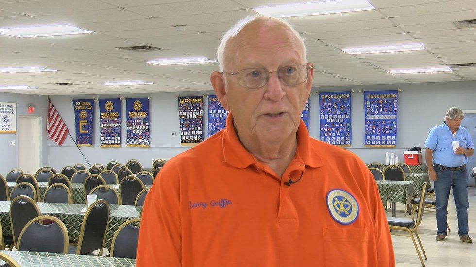 Larry Griffin, President of the Fair Association Of The Exchange Club Fair Of SWGA