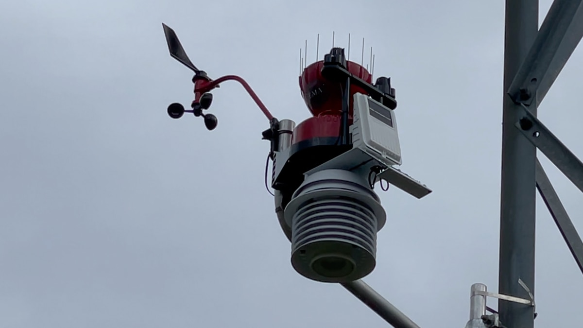 Lowndes County has added two new WeatherSTEM stations.