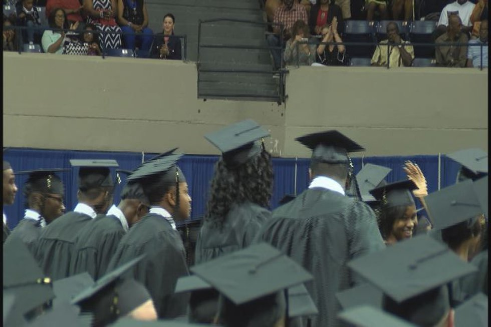 More than 100 high school students were recognized for graduating through the Move on When...