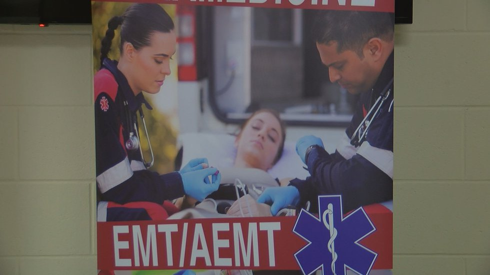 Students learn from work alongside Dougherty County EMS