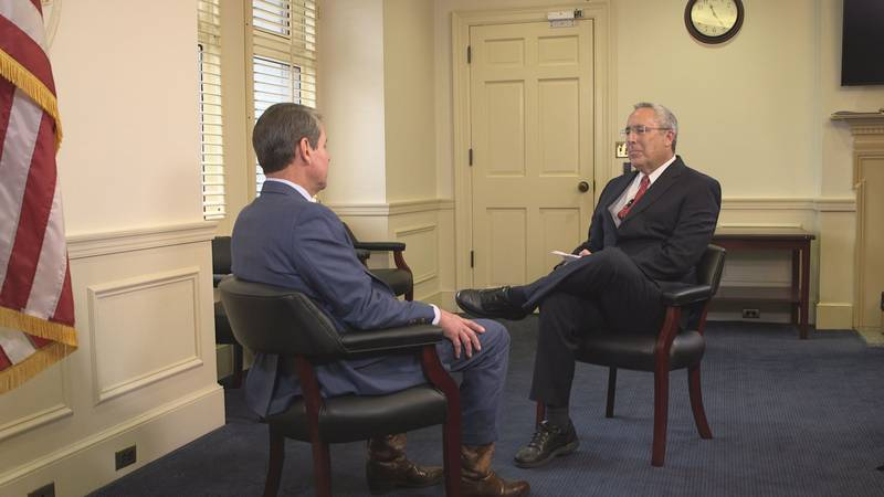 WALB's Jim Wallace got the chance to sit down with Gov. Brian Kemp to talk about the 2020...