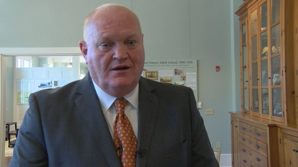 David Bridges is the president of ABAC and will remain the president. (Source: WALB)