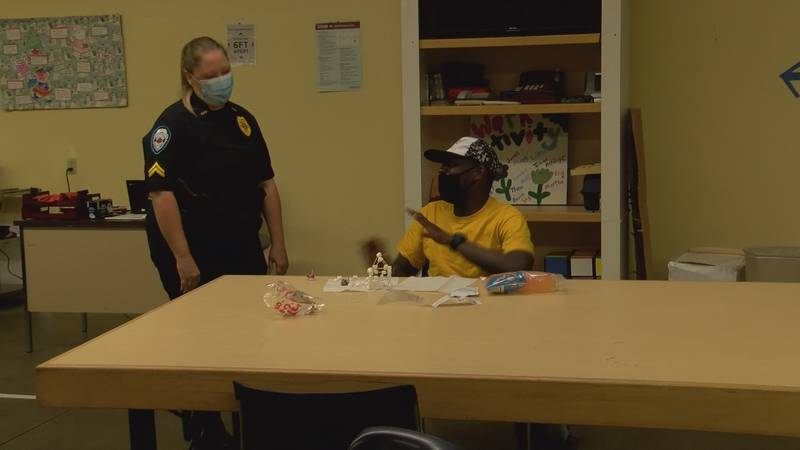 Police Dept. and Thomas Grady Service Center foster partnership with activities