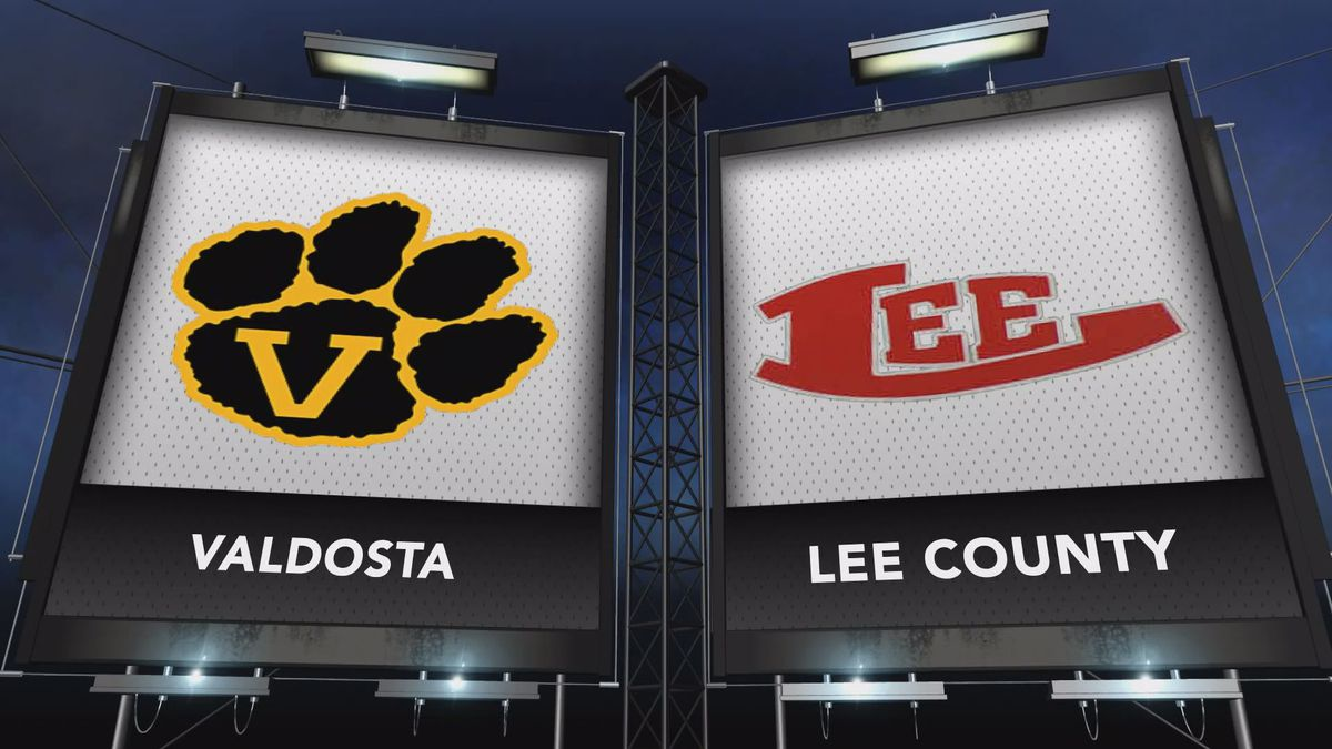 Valdosta traveled to Leesburg to meet Lee County in our Game of the Week