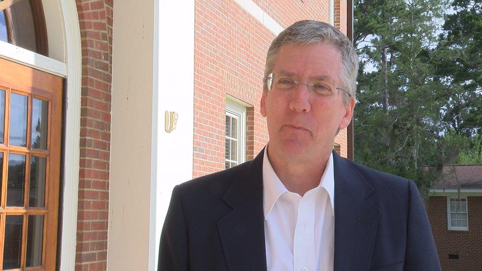 Dr. Andy Sheppard, TU President