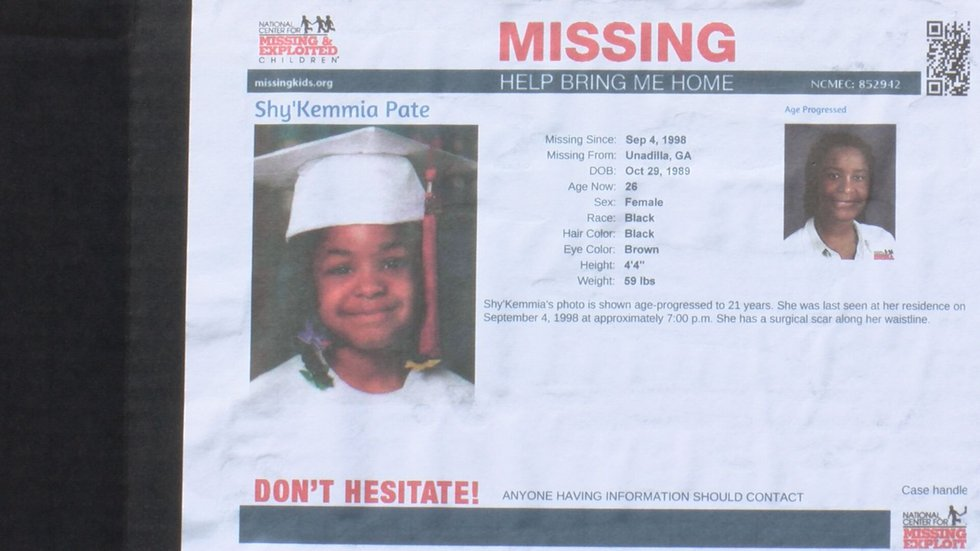 Shy'Kemmia Pate's family is still hopeful that police or somebody will find her. Shy'Kemmia has...