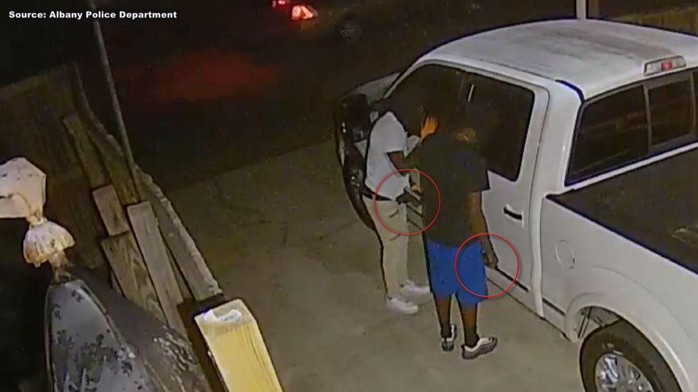 Albany Police Department investigating  armed car break ins