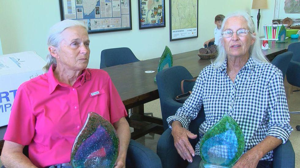 Sumter County Farmers Jenny Crisp and Marjie McRee
