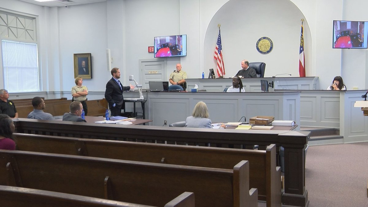 Tuesday is day two of the trial. (Source: WALB)