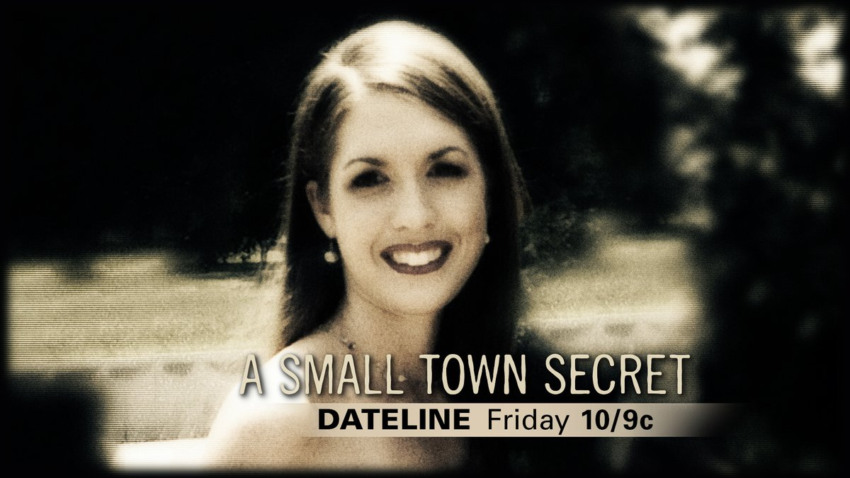 """Dateline's """"A Small Town Secret"""" takes a fresh look at the Tara Grinstead case. It airs Friday..."""