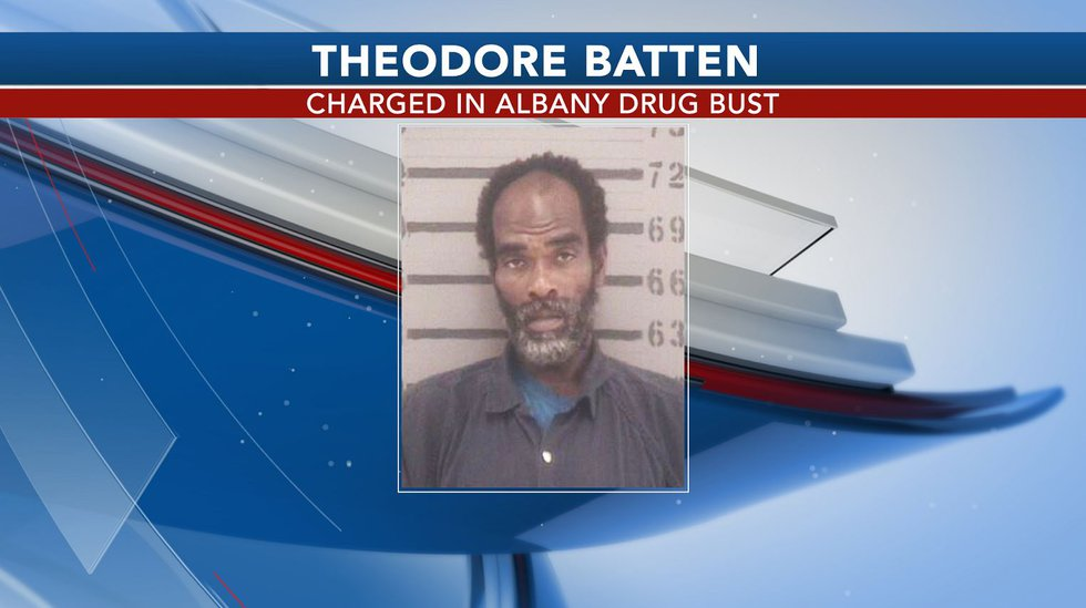 Theodore Batten, 44, was charged with the sale of meth and obstruction in connection to the...