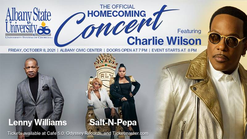 Charlie Wilson is featured at ASU this year.