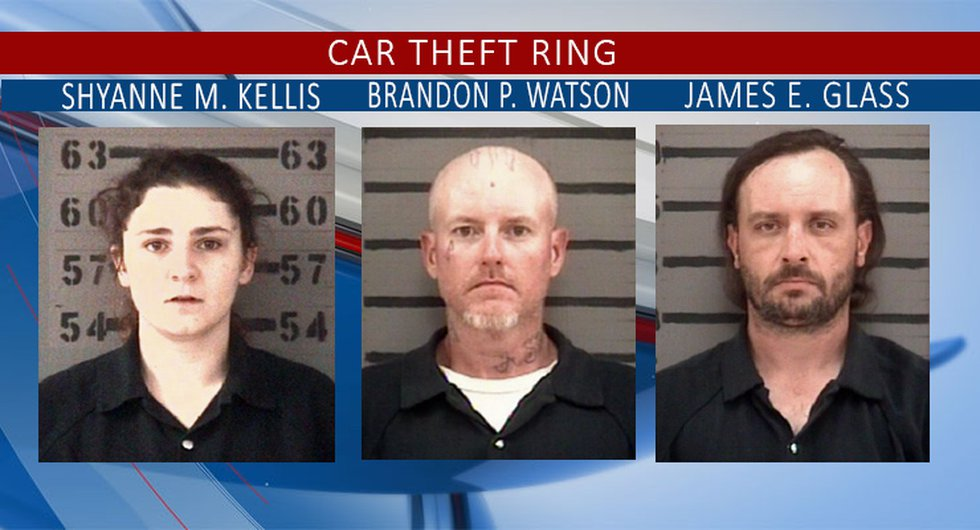 Shyanne Kellis, Brandon Watson, James Glass and Alexander Arevalo were arrested in connection...