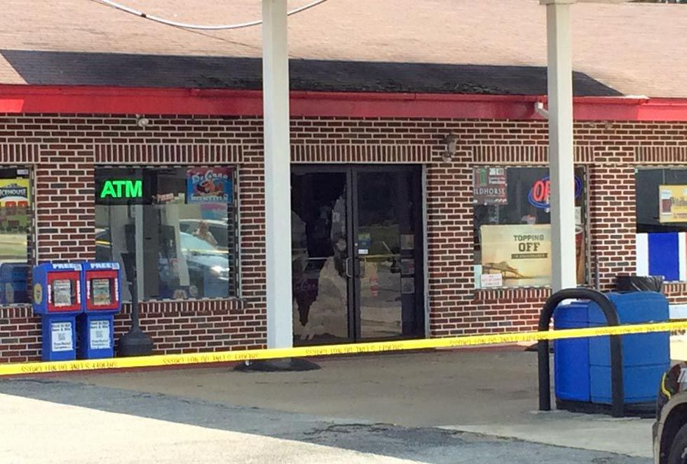 The robbery happened July 17th at a Marathon gas station near Sycamore.