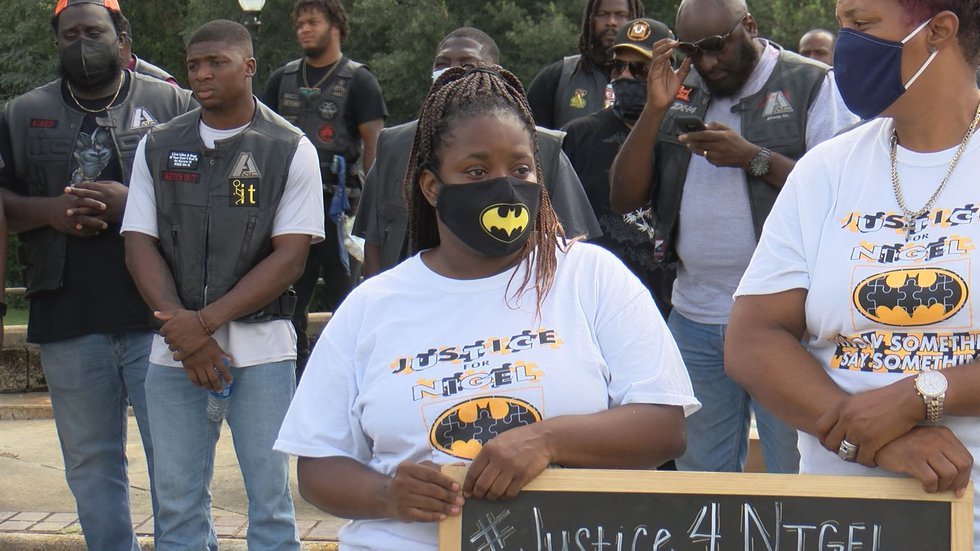 Nigel Brown's mother, Yolander said she still wants justice and encourages people to speak up...
