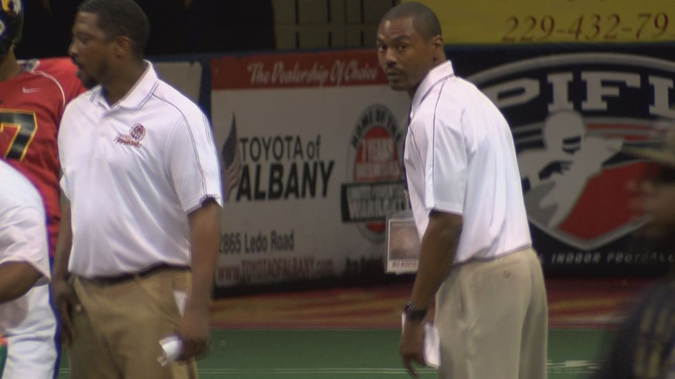 Antwone Savage had a close loss in his coaching debut (Source: WALB)