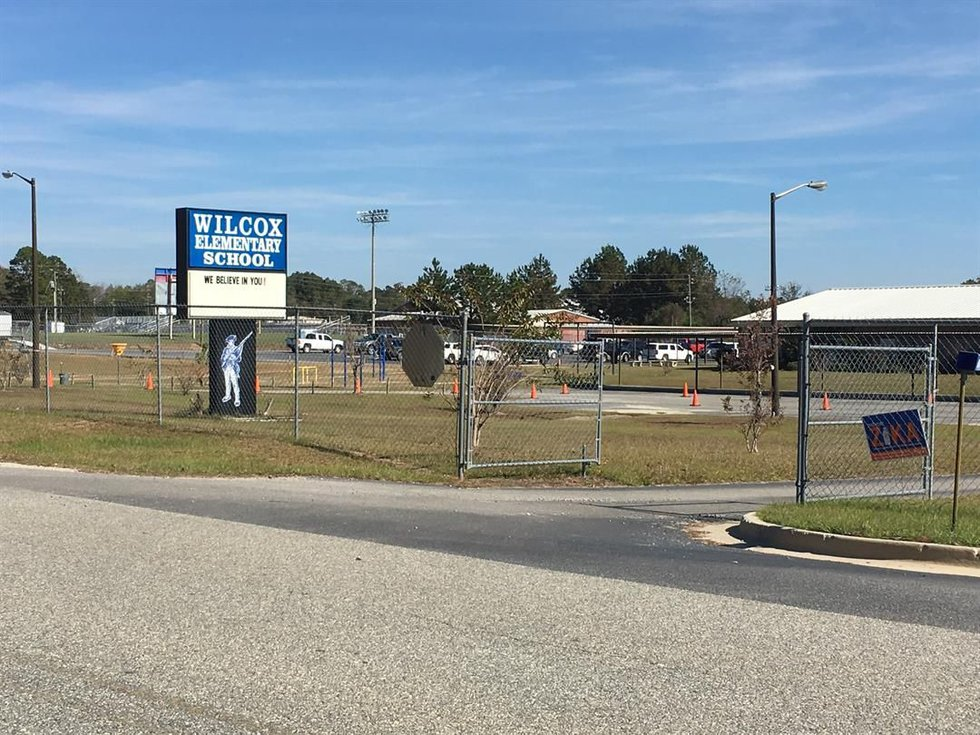 The school district informed local law enforcement, but they are not currently investigating....