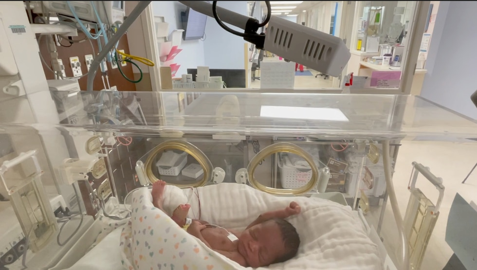 SGMC offers new AngelEye Tech to view babies.