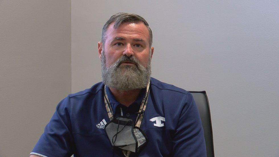 Adam Hathaway is the Tift County Schools superintendent.