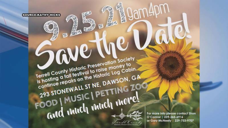 The Terrell County Historic Preservation Society will be throwing their second annual fall...