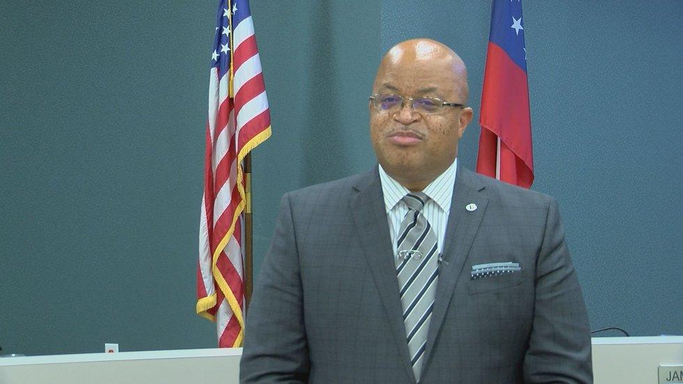 Superintendent, Kenneth Dyer of DOCO schools.