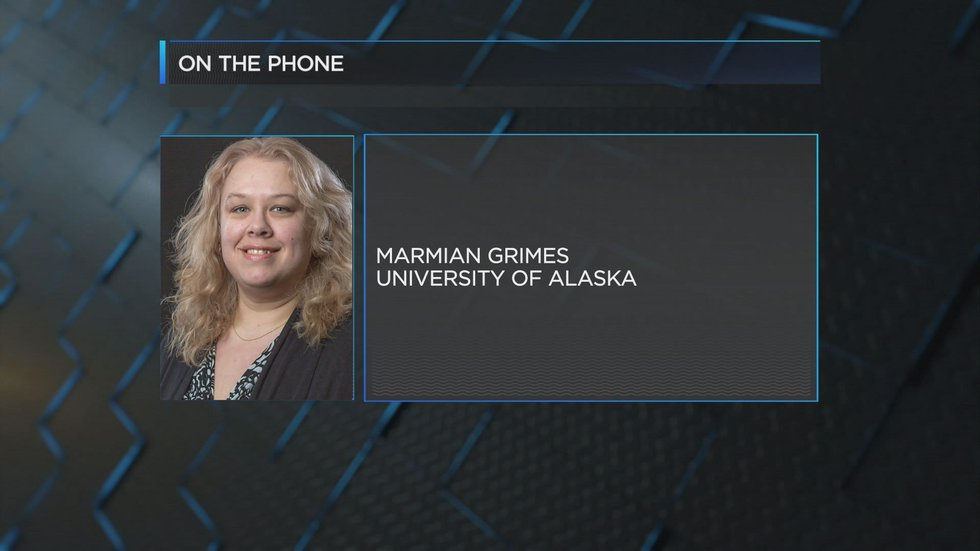 University of Alaska Fairbanks spokesperson Marmian Grimes (Source: WALB)
