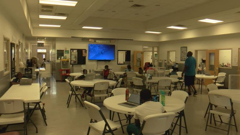 21st Century Community Learning Center Positive Direction kids going through learning programs