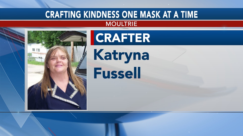 Katryna Fussell is spreading kindness one mask at a time.