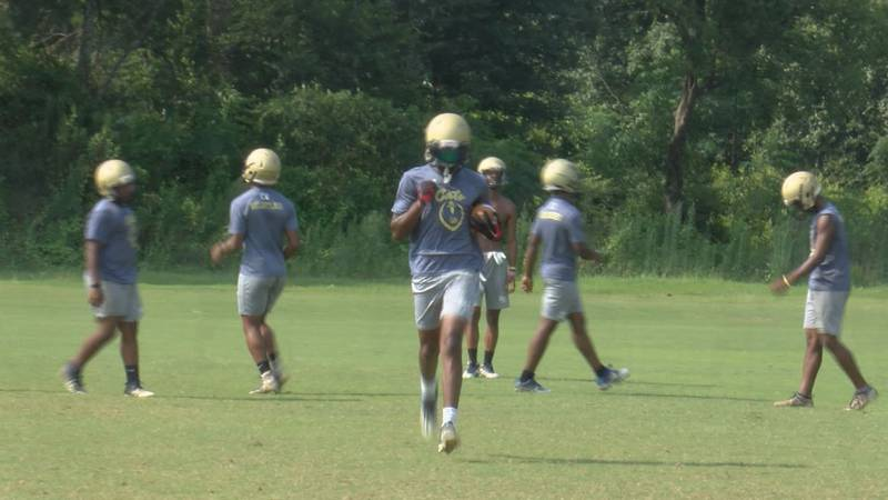 The Early County Bobcats now have a new standard in their football program