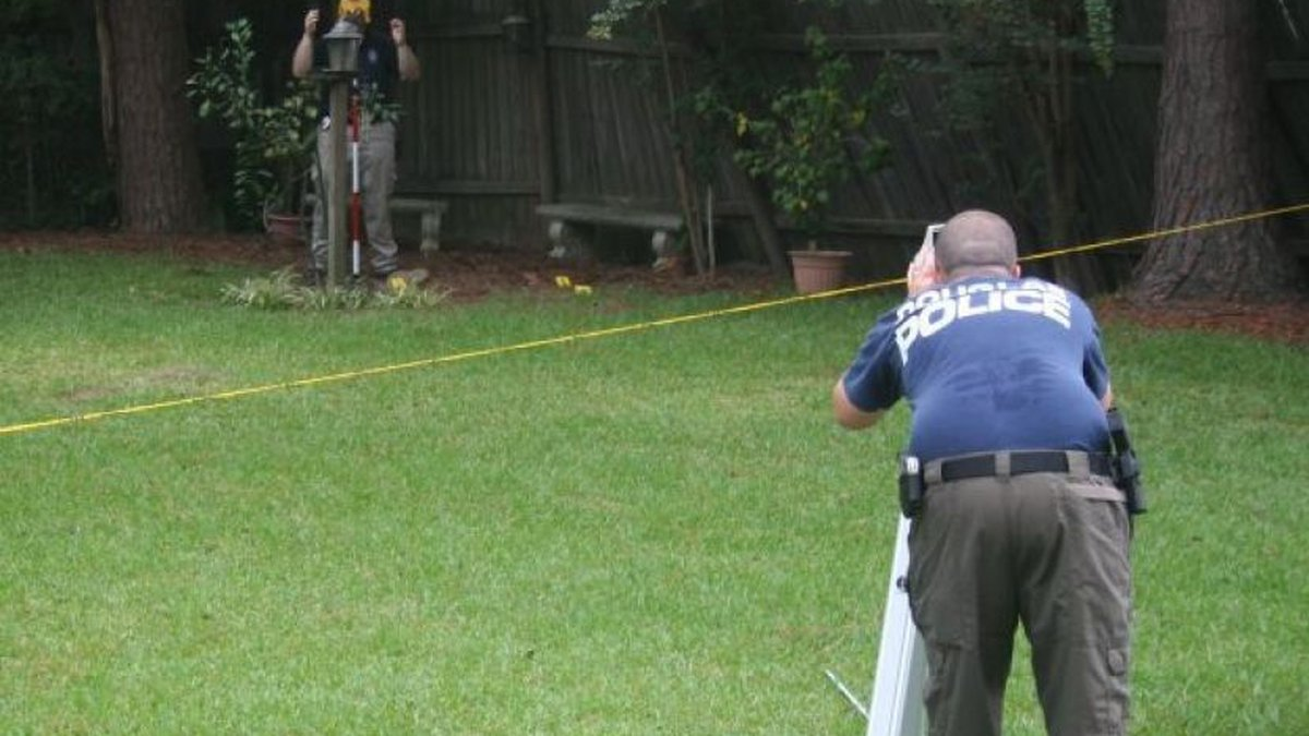 Douglas Police recreated thew scene as part of their investigation of the case. (Source:...