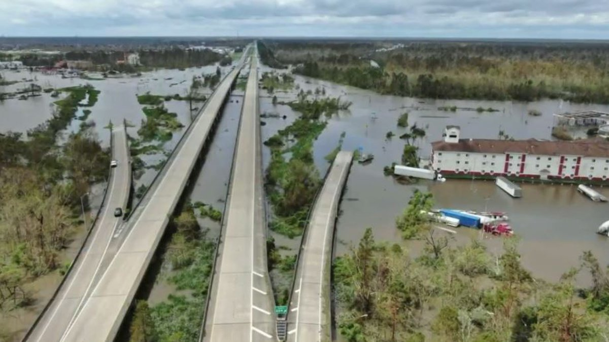 Southwest Georgia is pitching in to help those affected by Hurricane Ida.