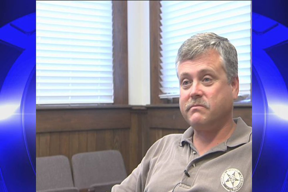 Incumbent Sheriff Dana Meade