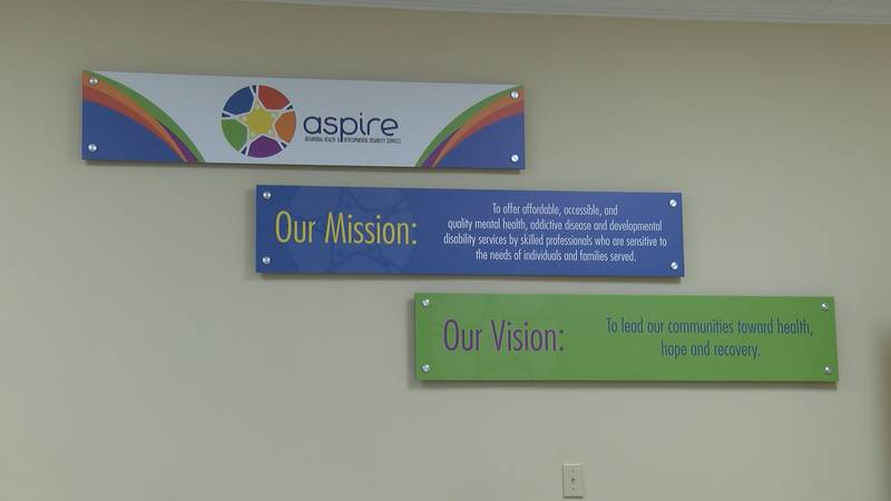 A pilot program with APD and Aspire would help people having mental health issues.