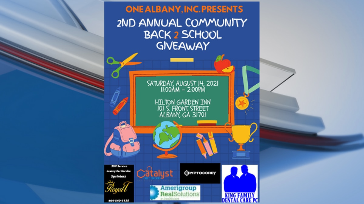One Albany, Inc. will host a back to school giveaway.