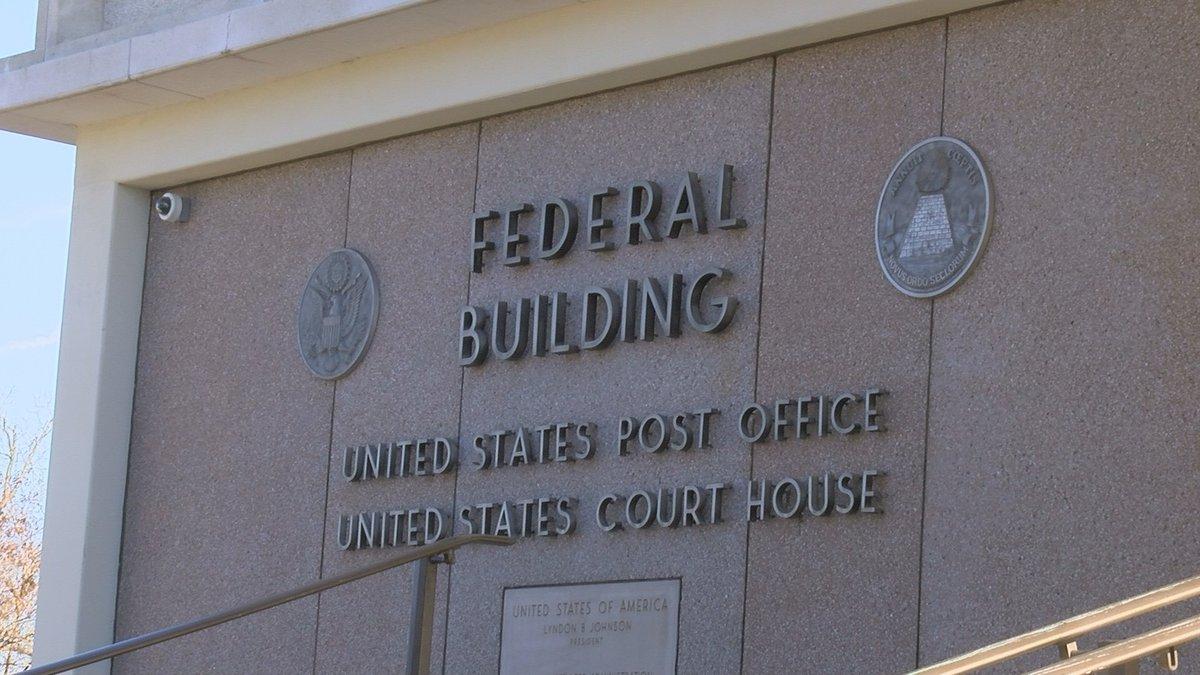 The Valdosta federal court house.