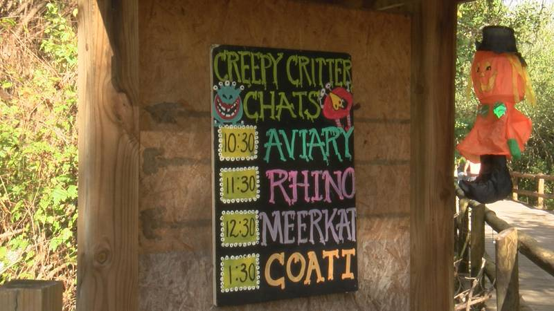 Chehaw hosted Boo at the Zoo on Satuday.