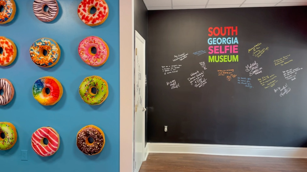 South Ga. Selfie Museum opens in Downtown Valdosta.
