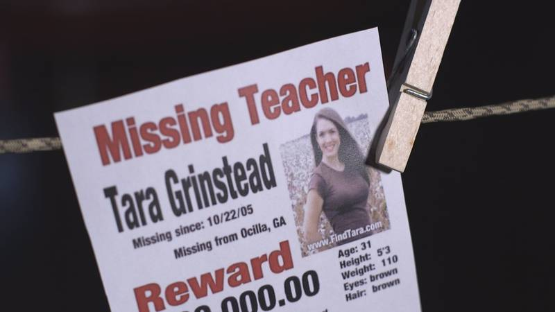 Tara Grinstead was last seen alive on October 22, 2005 after attending pageant in Fitzgerald.
