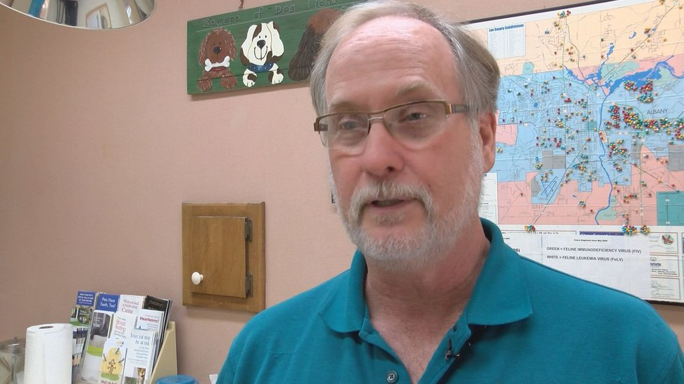 Albany Pet Partners President, Dr. Fred Freeland (Source: WALB)
