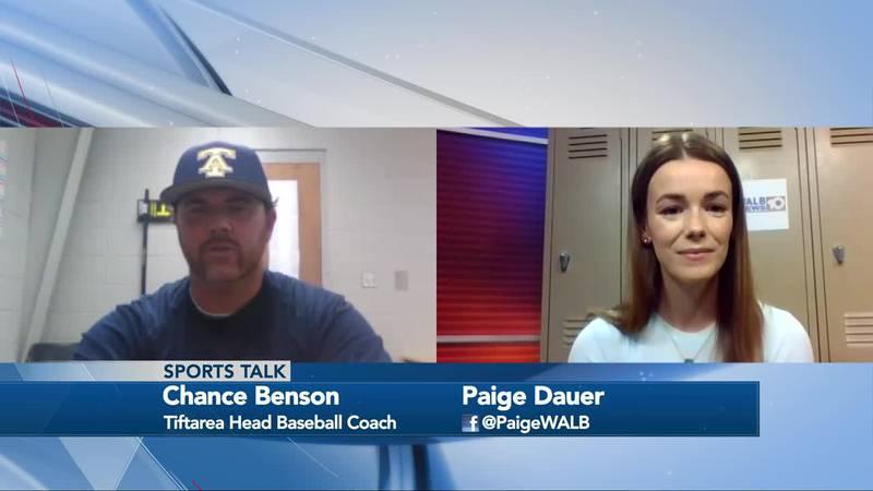 Sports Talk with Paige Dauer - Tiftarea Baseball