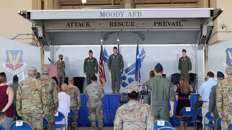 Moody Air Force change of command Ceremony.