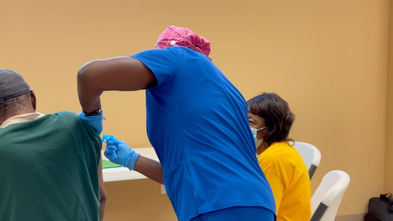 SHD partners with Valdosta Churches to vaccinated the commmunity.