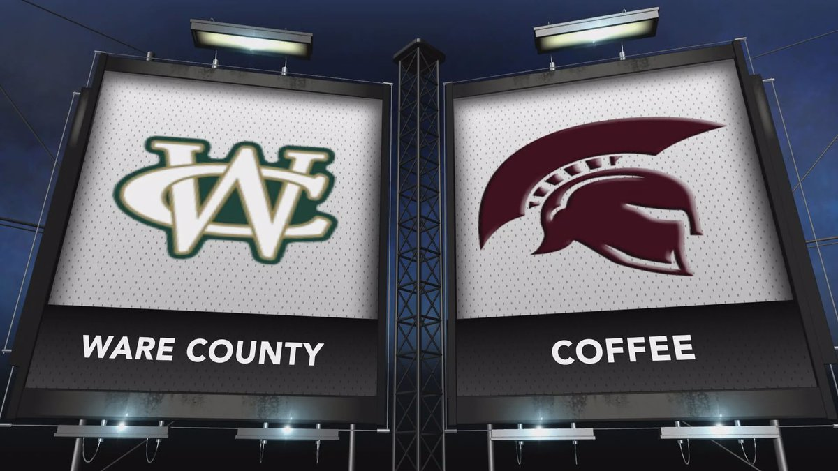 Ware County and Coffee met in this week's Game of the Week