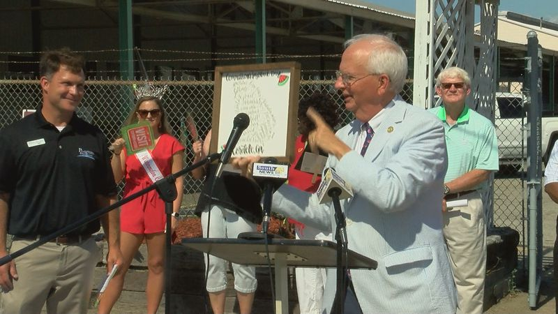 State Agriculture Commissioner Gary Black made the announcement about the increase of the use...